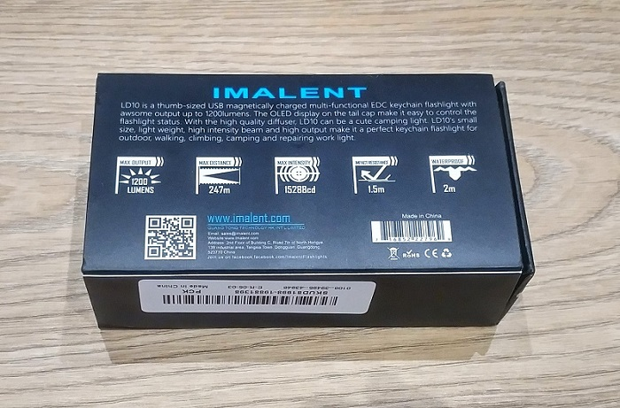 Review Imalent LD10